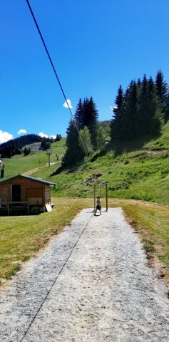 Tyrolienne été 2020