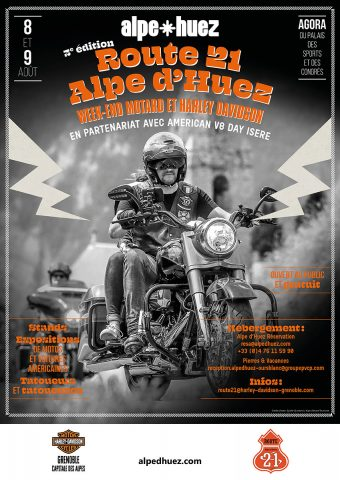 American Days et Harley -Route 21