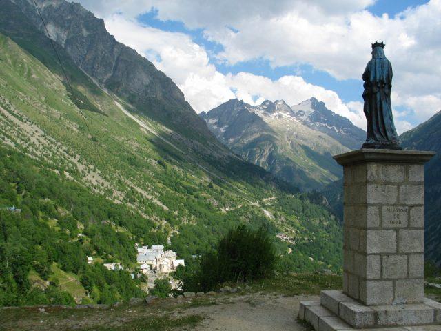 Vierge du Collet en été