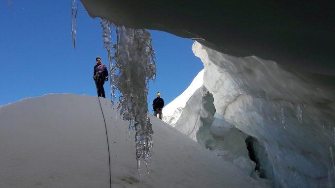 Randonnée glacier de la Girose