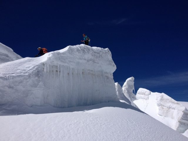 Randonnée glacier La Grave