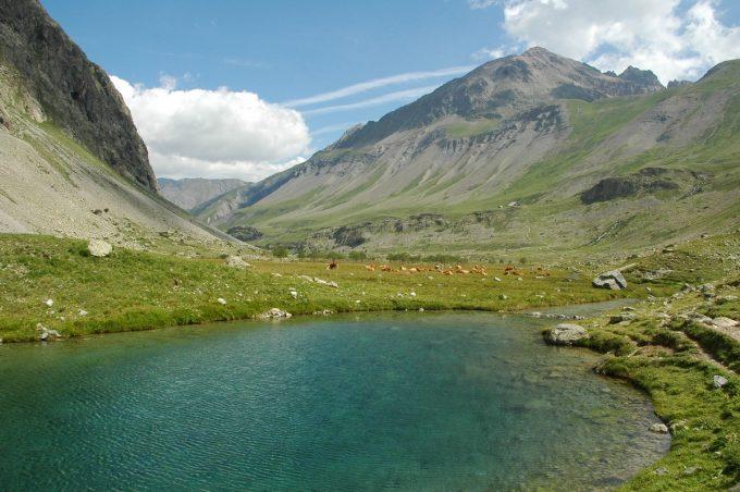 Lac vers Valfourche