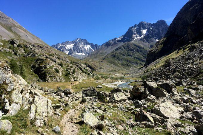 Arrivée au plan de l'Alpe