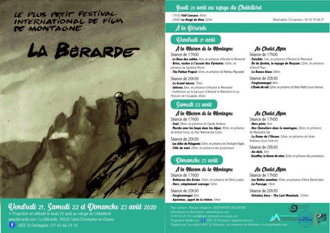 programme festival 2020