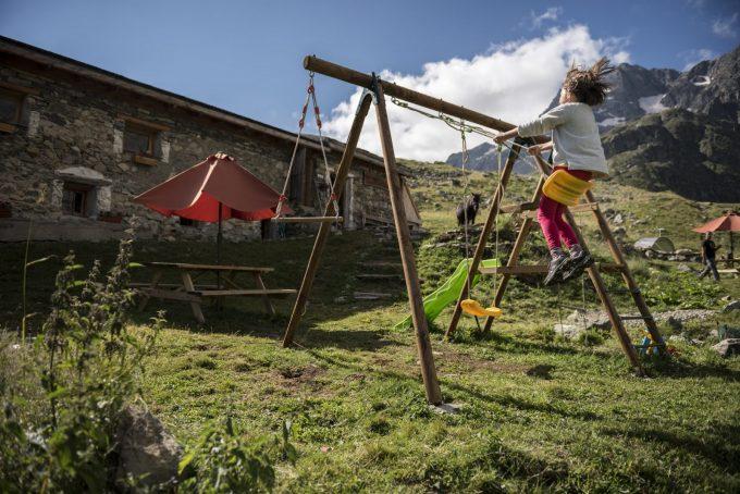 Aire de jeux pour enfants – Villar d'Arène – La Grave