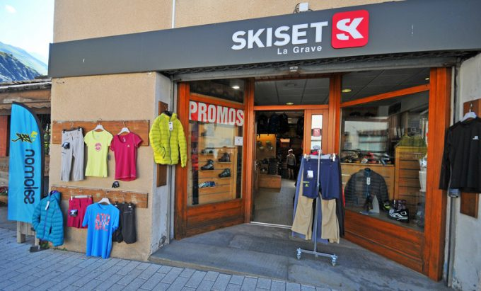Magasin de sports SkiSet à La Grave