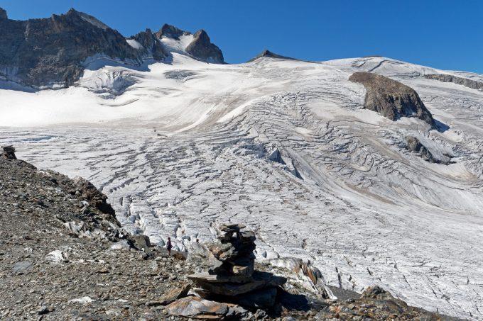 Glacier de la Girose en été – La Grave