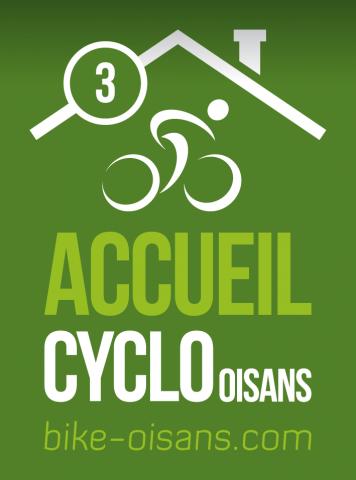 Label Cyclo 3 Vélos – Hotel Edelweiss – La Grave