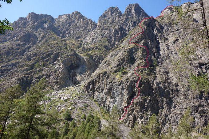 Via Ferrata des Mines du Grand Clot, Les Fréaux – La Grave