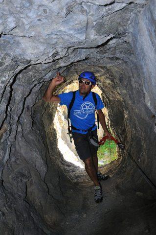 Via ferrata «Les mines du Grand Clot» – La Grave