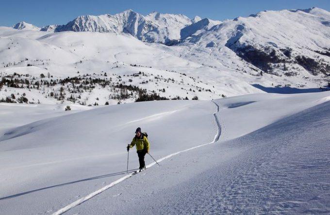 Plaisir de la randonnée à ski – Ski de randonnée – La Grave
