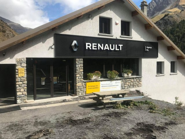 Garage Renault PIC – La Grave