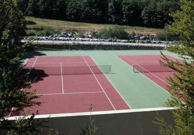 Terrains de tennis de la Grave