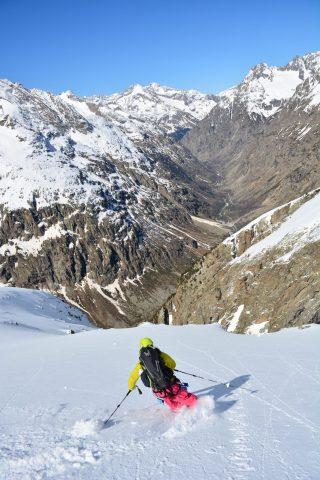 hors piste ski