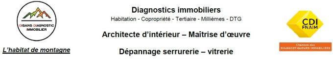 Oisans Diagnostic Immobilier