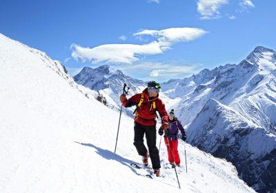 Freerando depuis les 2 Alpes – télésiège du Signal ou Les Travers
