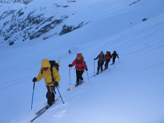ski de rando Meije
