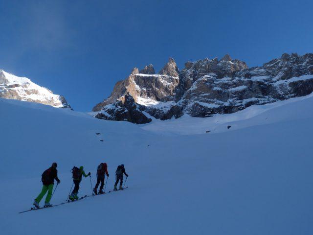 ski de rando les Etançons
