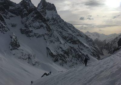 Ski de randonnée depuis Les Près