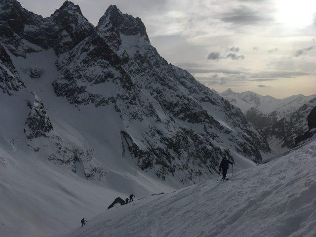 ski rando vallon de la selle
