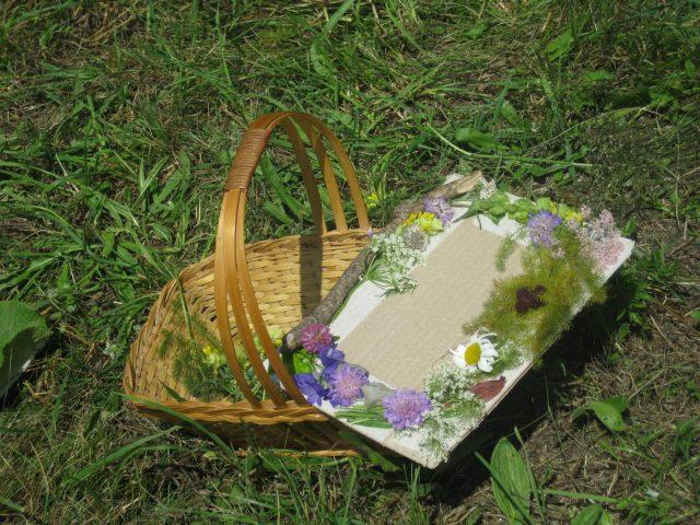 Créations artistiques avec des fleurs