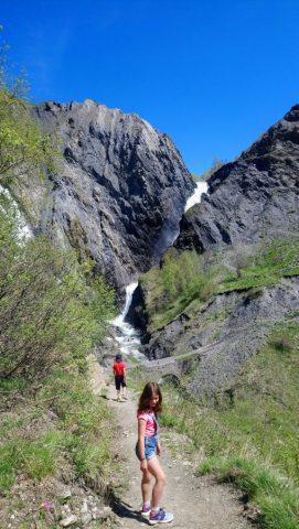 Sentier de la cascade de Pont Ferrand