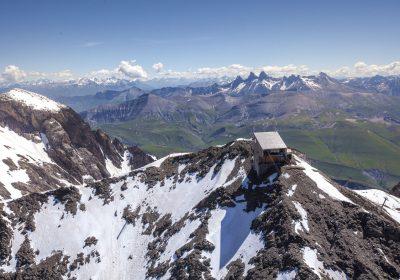 Sur le Pic Blanc (3 300 m)