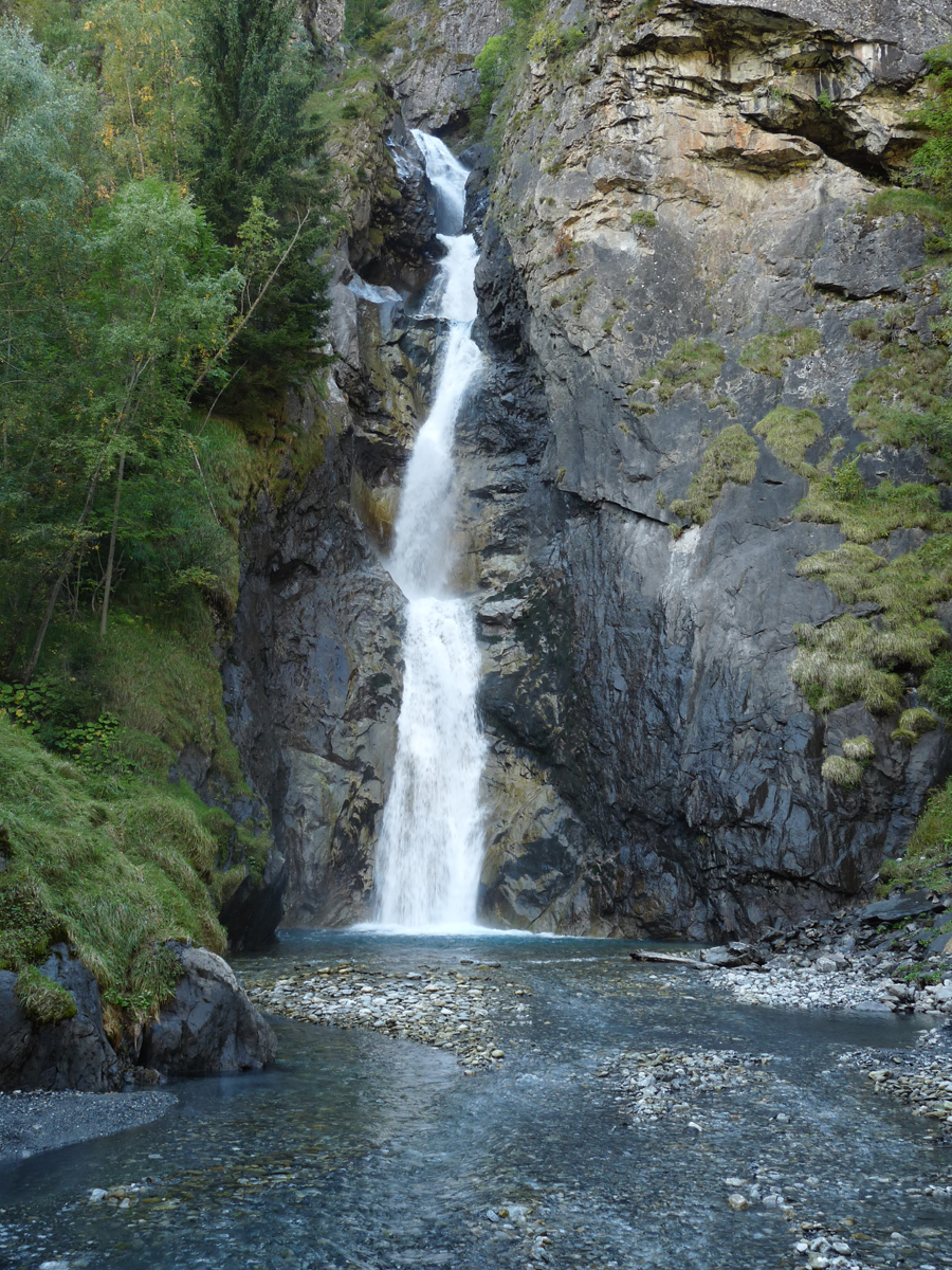 Cascade de la Pisse de Lanchâtra - Saint-Christophe-en-Oisans - La Bérarde  - Découvrir l'Oisans et patrimoine naturel