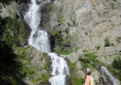 Cascade de la Froide Pisse de l'Alpe du Pin