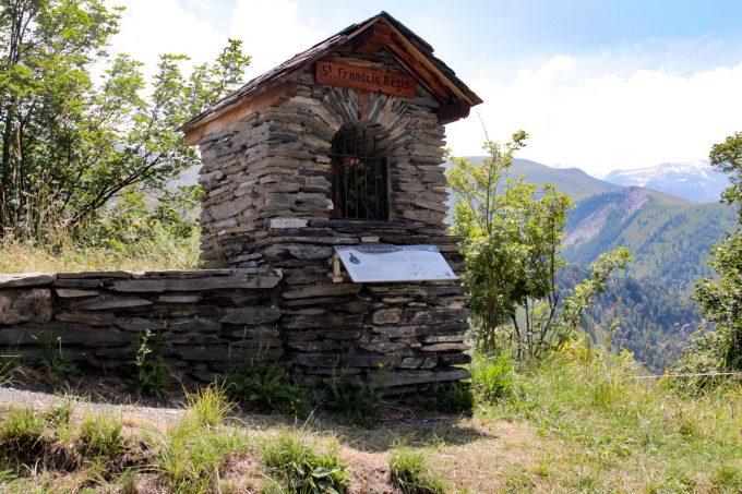 Sentier des oratoires de Besse-en-Oisans