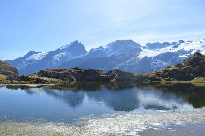 Lac Lérié sur le plateau d'Emparis