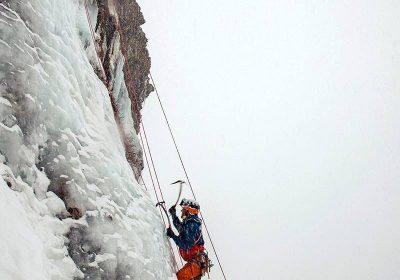 Cascade de glace – Bureau des Guides & Accompagnateurs