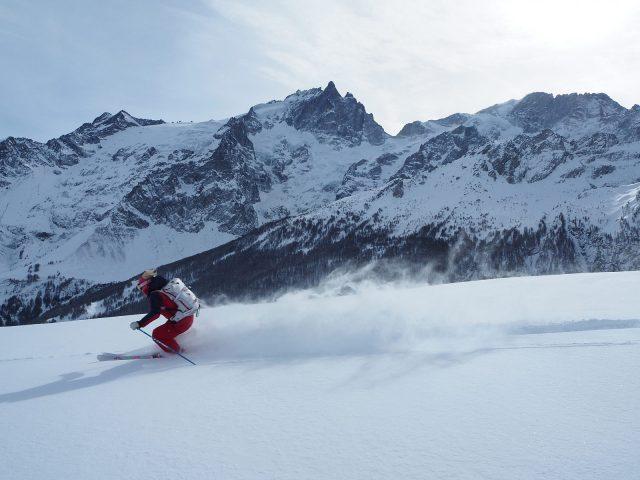 Ski en pleine nature avec ESF La Grave La Meije