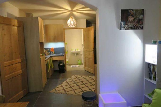 Appartement T2 sous le Gîte Le Rocher à La Grave