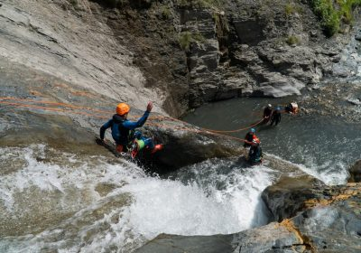 Canyoning avec No Limit Rafting