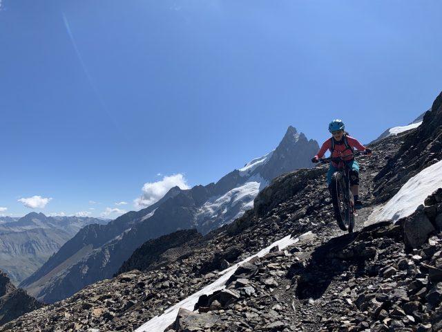VTT montagne La Grave