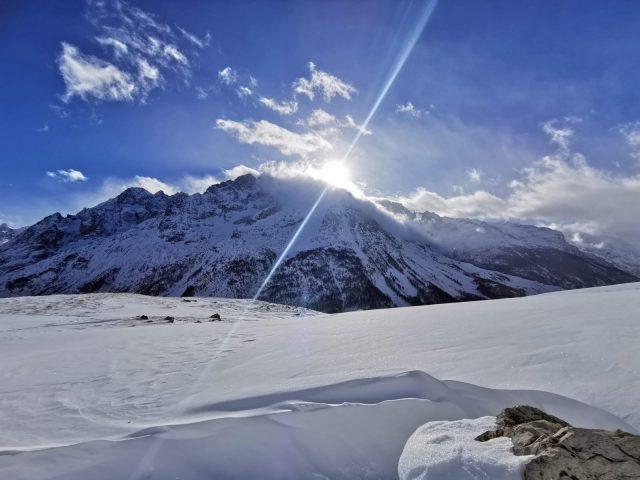Ski de randonnée au Lac du Pontet