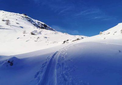 Ski de randonnée à L'Aiguillon
