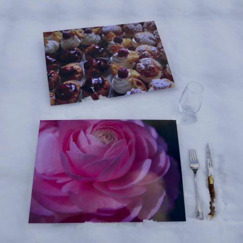 set de table saint valentin