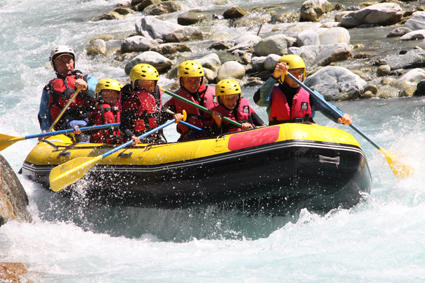 Bapteme Rafting