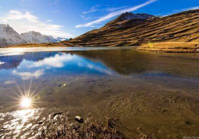 Sentier d'interprétation du lac du Goléon