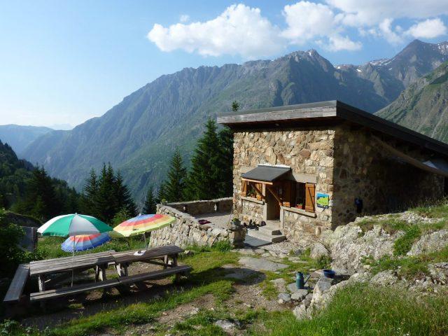 refuge Alpe du pin