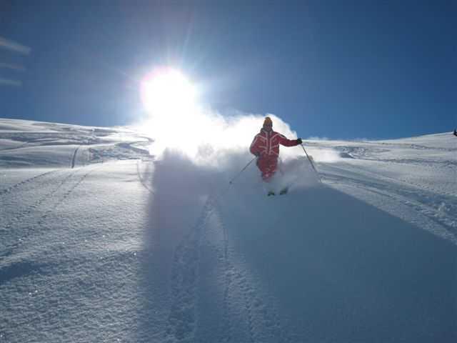 Cours de ski avec l'ESF