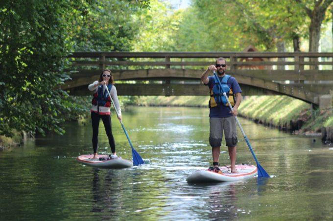 suivre la rive paddle