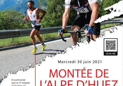 Montée de l'Alpe d'Huez du 93° RAM
